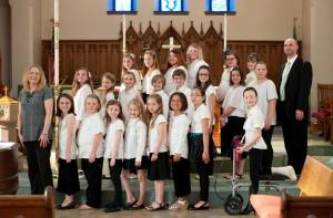 Choir Photo May 2015